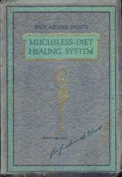 Copertina del libro in lingua originale mucusless diet